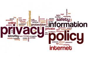 social media policy word cloud