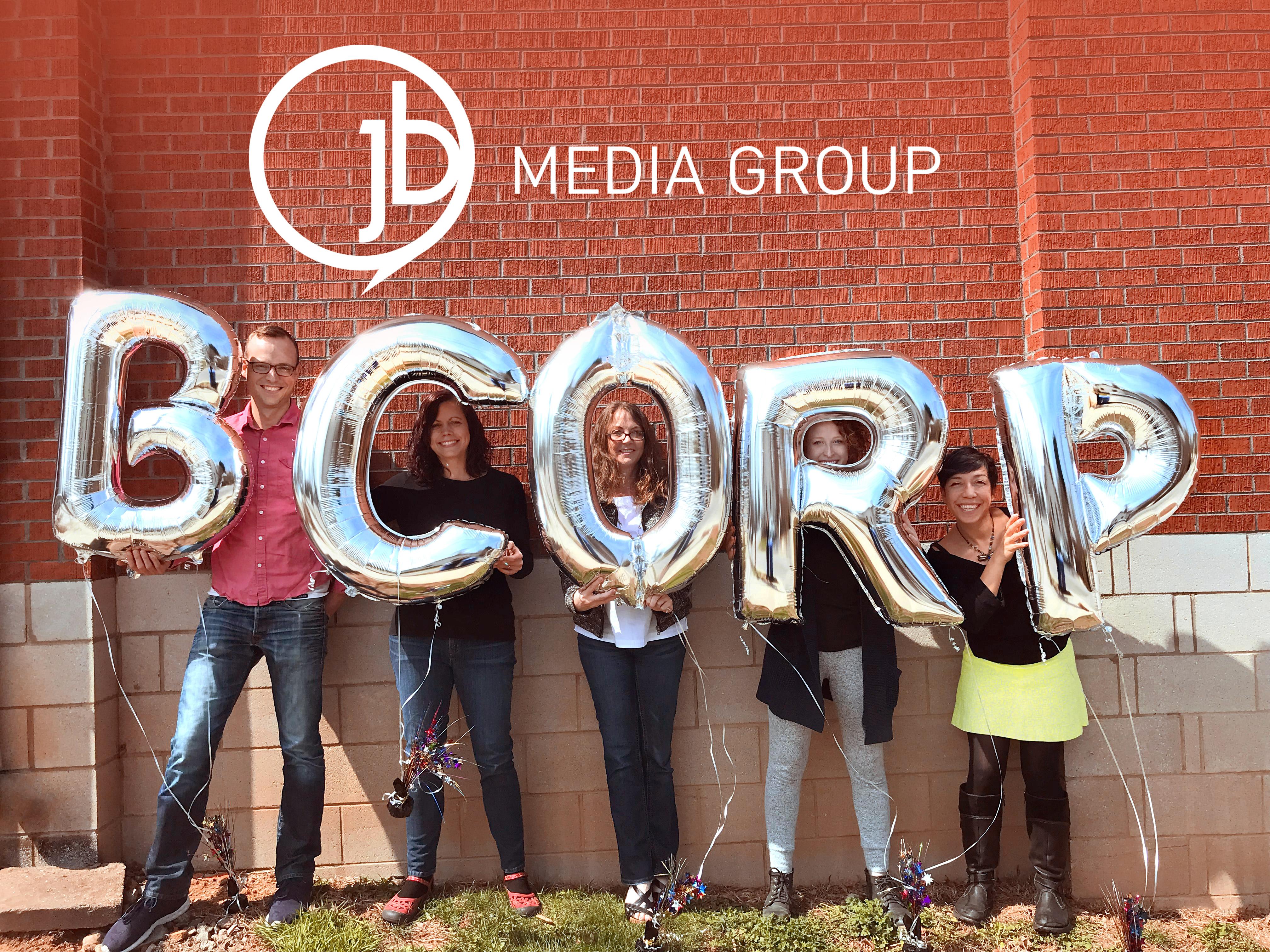 JB Media Group Earns Prestigious  B Corp Certification